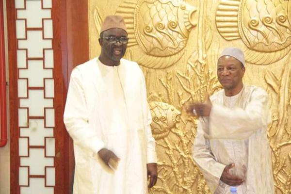 Moustapha Cissé Lô a été reçu par le Pr Alpha Condé