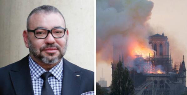 Sur décision royale, le Maroc accorde une contribution financière pour la reconstruction de la cathédrale Notre-Dame de Paris