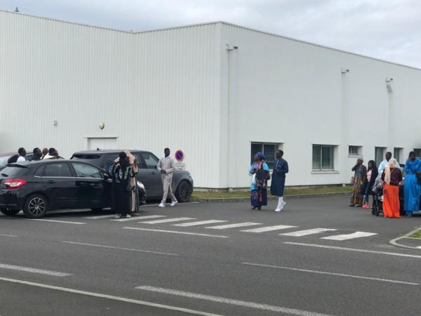 Arrêt sur image - Le départ depuis Bordeaux du jet privé transportant la dépouille de Cheikh Béthio Thioune