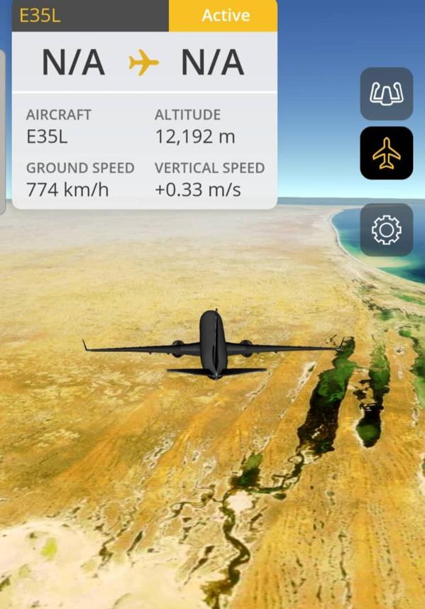 Le vol spécial qui transporte la dépouille du Cheikh vient de pénétrer le ciel Sénégalais.