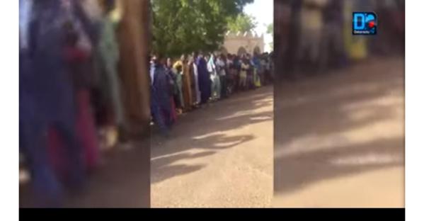 Cimetières Bahiya : Une foule immense à l'accueil avant l'inhumation de Cheikh Béthio Thioune