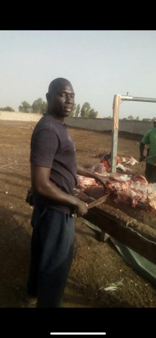 Les Thiantacones encore  endeuillés...Elhaj Ndiaye, le boucher attitré  du défunt Cheikh Béthio, est décédé