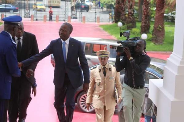 Le poste de PM supprimé Boun Abdallah Dionne déménage aujourd'hui au palais