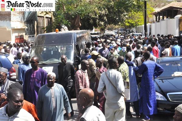 Drame de Tamba : Les images de l'inhumation de Bineta Camara