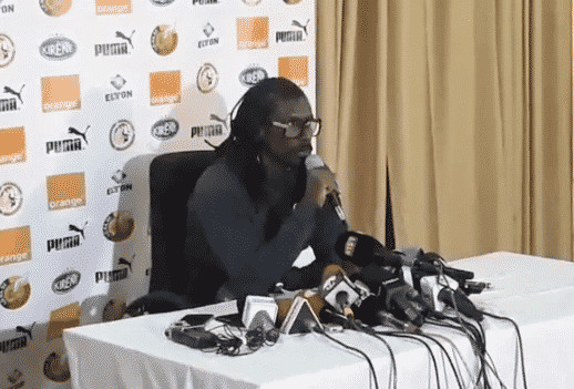 Can-2019 : Aliou Cissé a publié la liste des 23 Lions