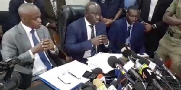 Revivez la conférence de presse du Procureur de la République, Serigne Bassirou Guèye