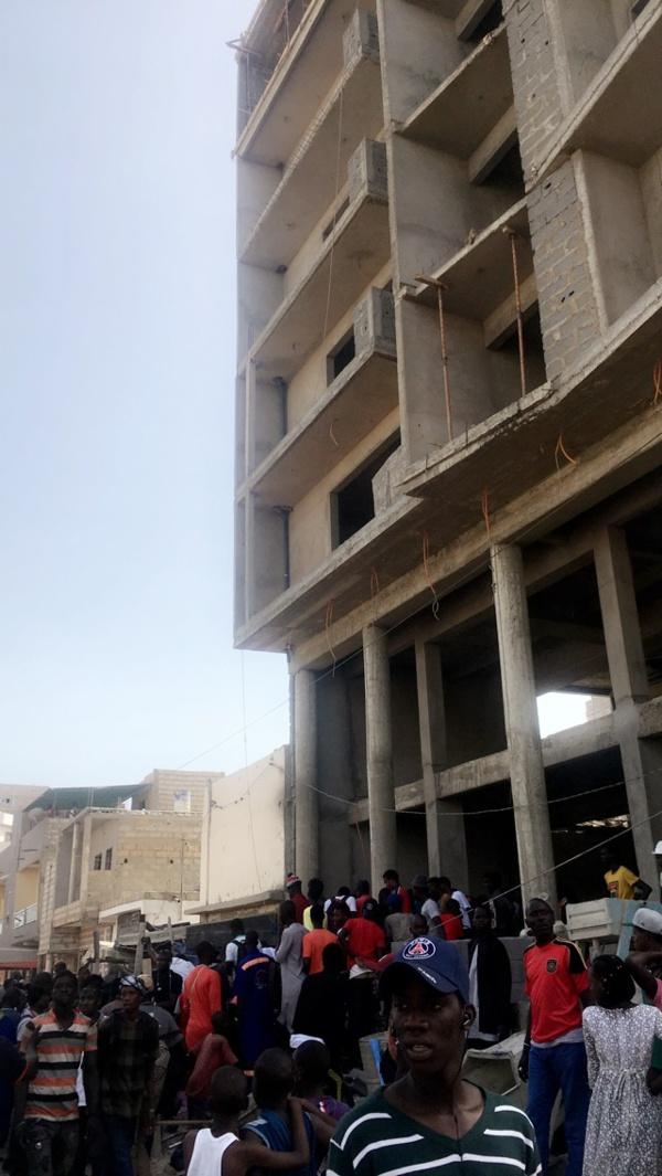 Urgent : Un individu gravement blessé après avoir chuté d'un immeuble sur les 2 voies de Fass
