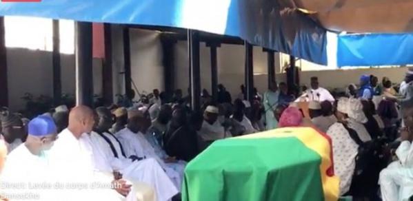 Levée du corps de l'ancien ministre d'Etat : Amath Dansoko élevé au grade de commandeur de l'ordre national du mérite