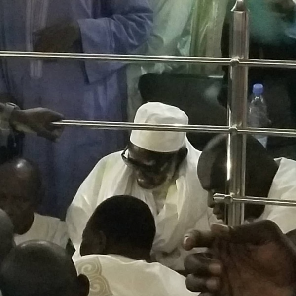 """Pape Aly Guèye au khalif général des mourides: """"Serigne Bi"""", je suis venu vous renouveler mon allégeance ad vitam aeternam"""""""