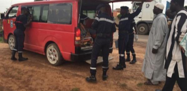 KOUMPENTOUM : 4 morts et 31 blessés dans un accident de la route