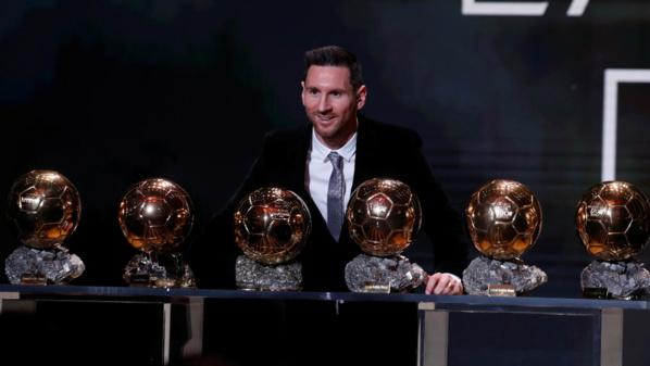 Ballon d'Or 2019 : Lionel Messi sacré pour la 6e fois, un record