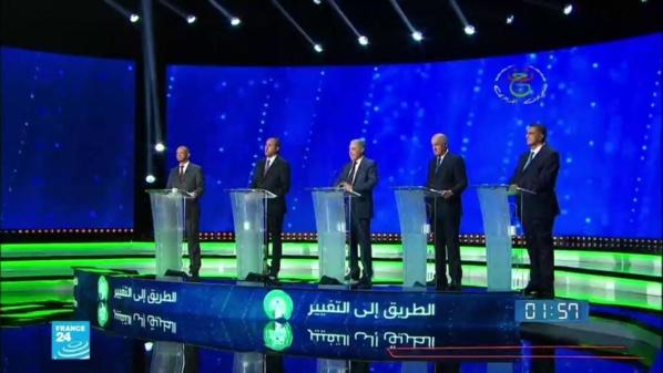 Qui sont les cinq candidats en lice pour l'élection présidentielle algérienne ?