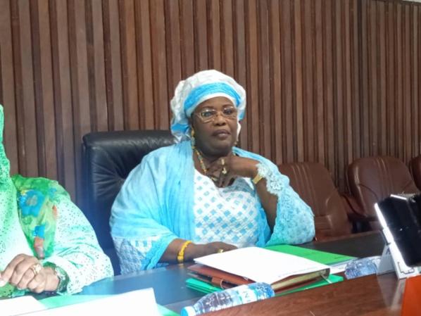 HCCT: Aminata Mbengue Ndiaye prend fonction et rend hommage à feu Ousmane Tanor Dieng