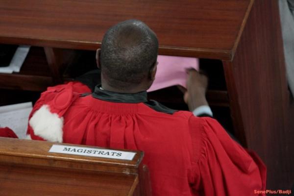 La Magistrature en Deuil : El Hadji Diouf n'est plus