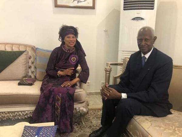 Me Aïssata Tall Sall reçu par Abdou Diouf