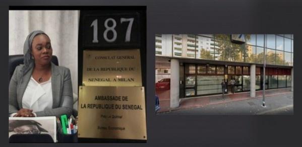 Consulat du Sénégal à Milan : Une fille d'un an chute du 3e étage