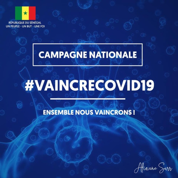 Le Ministre du Tourisme et des Transports aériens Alioune Sarr lance une CAMPAGNE_NATIONALE contre le Coronavirus dénommée : #VaincreCovid19