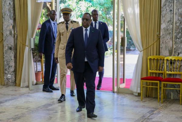 COVID-19 : Le président Macky Sall reprend les audiences au palais.