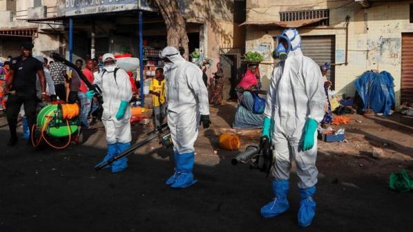 Coronavirus : les zones les plus touchées au Sénégal
