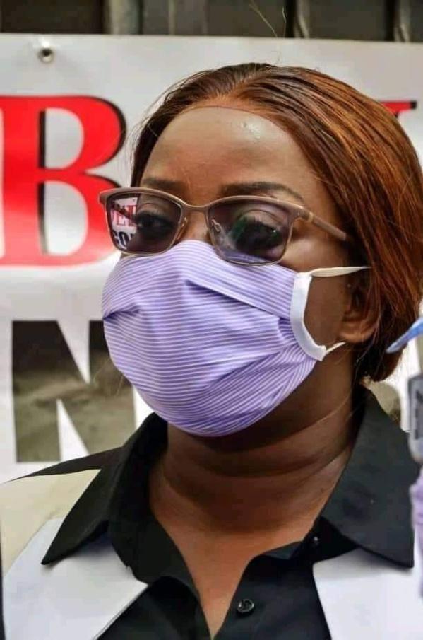 COVID-19: La députée Yéya Diallo testée positive