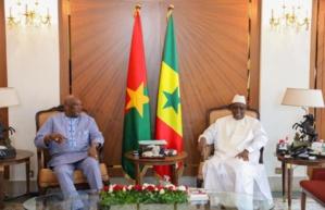 Visite du président du Burkina faso au Sénégal