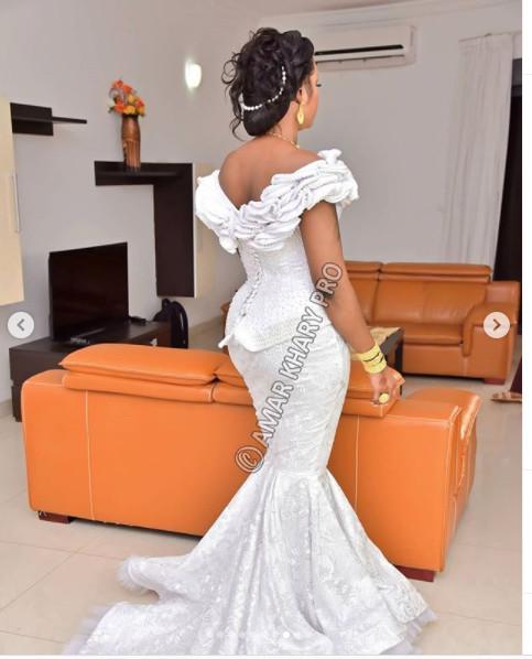 Mariage: admirez la magnifique robe de Mbathio (Photos)