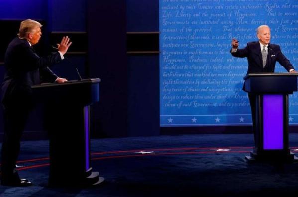 Dernier débat présidentiel : les micros de Trump et de Biden seront partiellement coupés