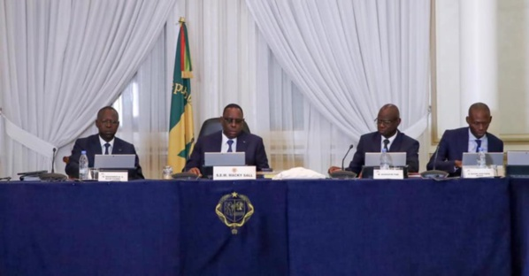 Les nominations en conseil des ministres du Mercredi 21 Octobre 2020
