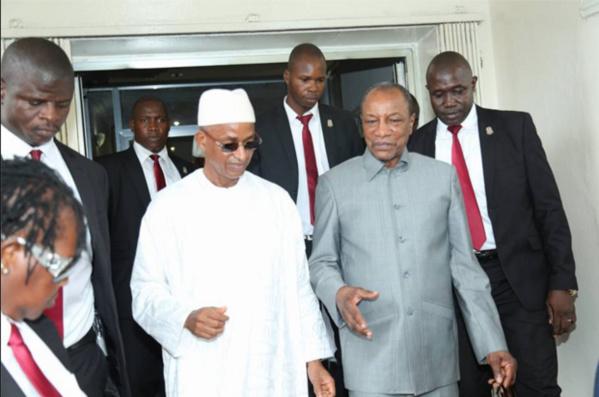 Les précisions du ministre de la Sécurité Guinéen sur le dispositif placé à la devanture de chez Cellou Dalein
