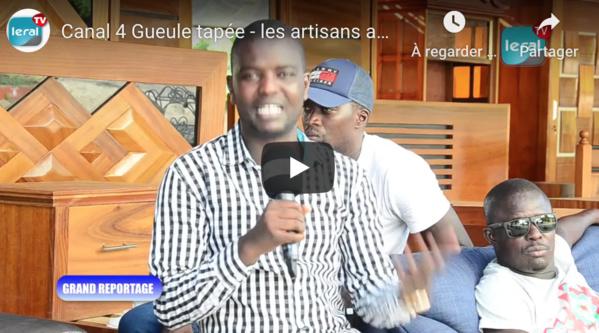VIDEO/ Canal 4 Gueule Tapée : Les artisans applaudissent Macky Sall et pointe du doigt leur Ministre tutelle Dame Diop