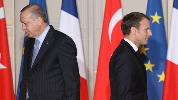Propos d'Erdogan sur Macron: la France rappelle son ambassadeur à Ankara