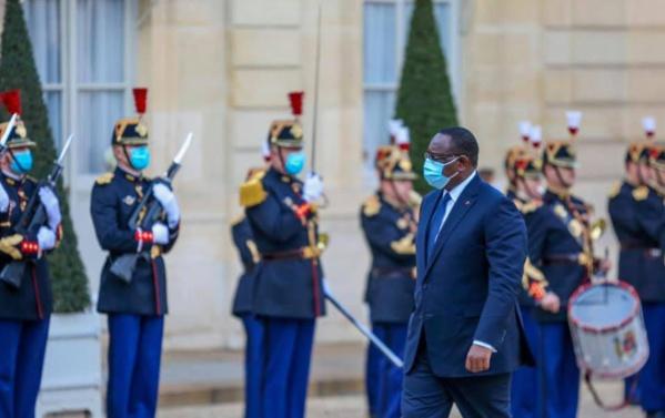 Ce que l'on sait du séjour à Paris du Pr Macky Sall