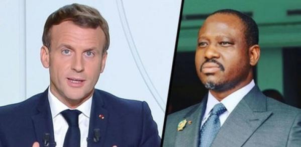 Macron sur Guillaume Soro : « Sa présence (en France) n'est pas souhaitée… »