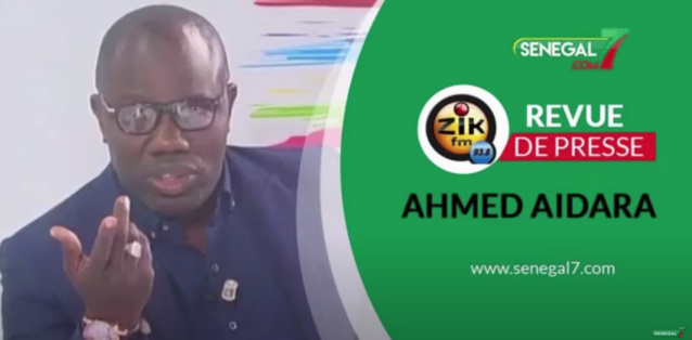 Revue de presse (wolof) Zik Fm du jeudi 17 décembre 2020 avec Ahmed Aidara