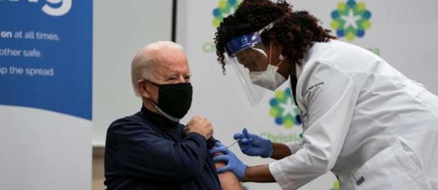 Etats-Unis : Joe Biden et son épouse ont été vaccinés contre le Covid-19