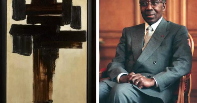 Culture : un tableau ayant appartenu à Senghor vendu à près d'un milliards FCFA