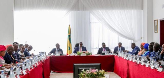 Communiqué du conseil des ministres du Mercredi 3 Février 2021.