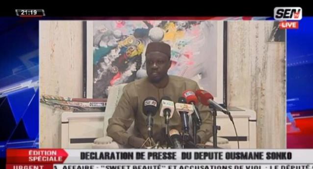 Affaire Sweet Massage : Ousmane Sonko annonce une plainte