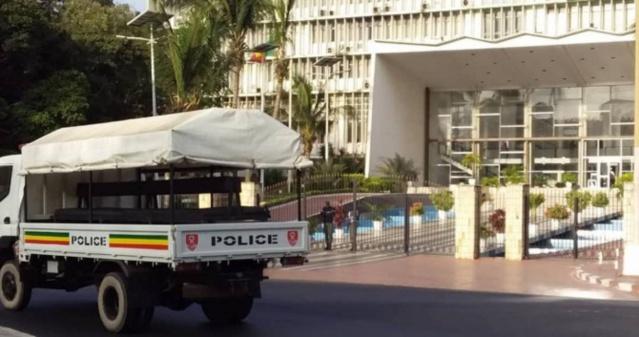 Immunité de Sonko: Le bureau de l'Assemblée se réunit aujourd'hui, la police déployée