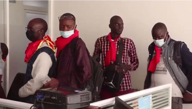 Sit-in au ministère de l'Agriculture : Moussa BALDE vilipendé par ses employés (Photos et vidéo)