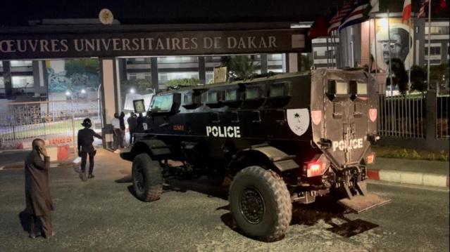 Sécurité : L'Ucad se barricade !