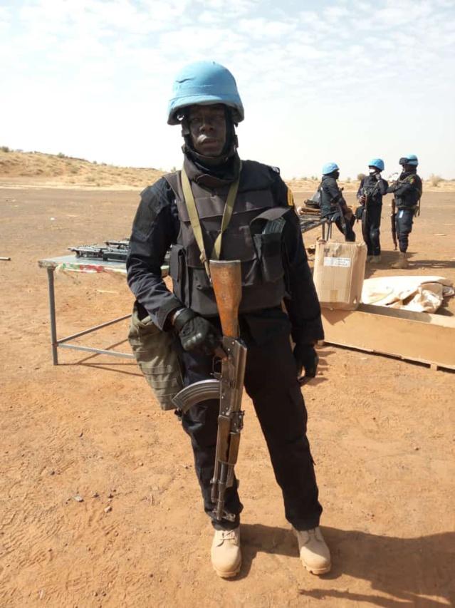 Grosse perte pour la police Sénégalaise et la Minusma- Le limier Sabarou Mbengue décède des suites d'un malaise