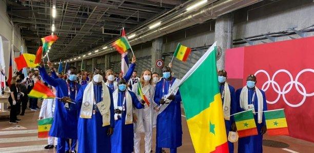 [Photos] Jo de Tokyo-2020 : Jeanne Boutbien, le porte-étendard du Sénégal