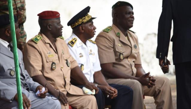 Armée Guinéenne: voici la liste complète des généraux mis à la retraite