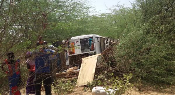 Images - Accident sur la route de Mbour ce matin