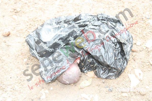 Niarry Tally : Le corps d'un nouveau-né découvert dans un sachet en plastique (photo