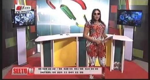 """L'animatrice """"Poté"""" ...portée par Ndiaga Ndour seule maitresse à bord de """"Seetou Bi""""; révélations sur ces deux réunions présidé par Youssou Ndour """"himself"""" qui annonce """"Olé Tfm""""..."""