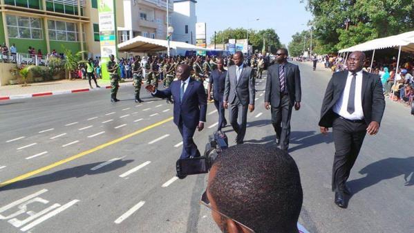 Idrissa Seck a participé au défilé du 4 Avril à Thiés  (Les premières images)