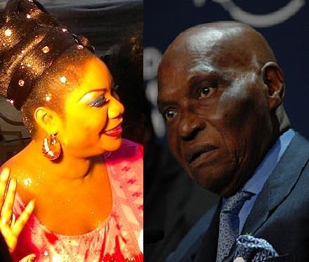 Me Wade a reçu la chanteuse Daba Sèye et lui offre une...maison (EXCLUSIF DAKARPOSTE)