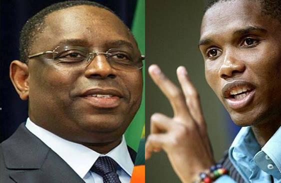 Que cache cette audience entre le Pr Macky Sall et Samuel Eto?